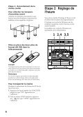 Sony MHC-R700 - MHC-R700 Consignes d'utilisation - Page 6