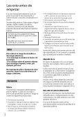 Sony HDR-CX410VE - HDR-CX410VE Consignes d'utilisation Espagnol - Page 2