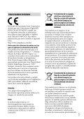Sony HDR-CX410VE - HDR-CX410VE Consignes d'utilisation Espagnol - Page 3