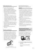 Sony HDR-CX410VE - HDR-CX410VE Consignes d'utilisation Espagnol - Page 5