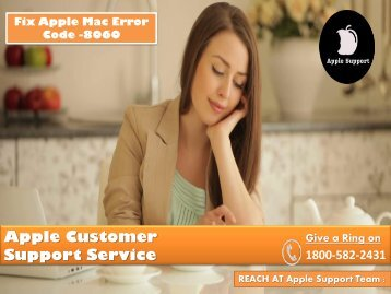 Fix Apple Mac Error Code -8060