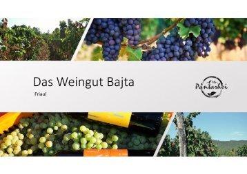 Das Weingut Bajta