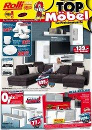 Top-Möbel für Preisbewußte bei Rolli SB Möbelmarkt, 65604 Elz bei Limburg