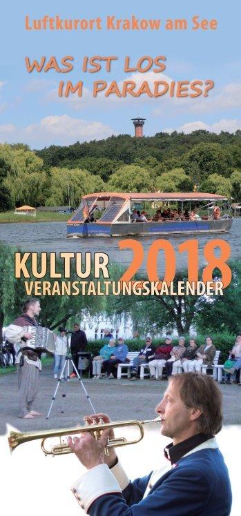 Veranstaltungskalender 2018 Krakow am See