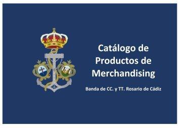 Catálogo merchandising Rosario de Cádiz 2018