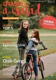 Utazik a család magazin 2018. tavasz