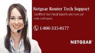 Call 1-800-335-8177 Netgear Router Tech Support