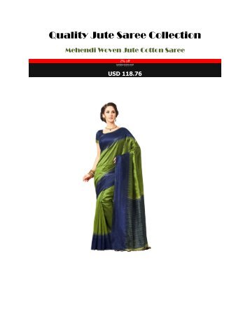 Quality_Jute_Saree_Collection