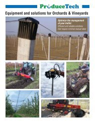 ProduceTech Orchards and Vineyards Brochure