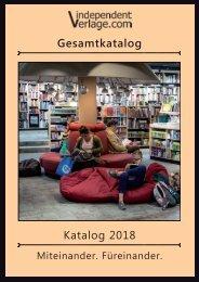 Independent Verlage - Katalog 2018