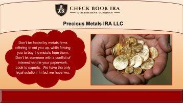 Checkbook IRA Custodians | Check Book IRA LLC