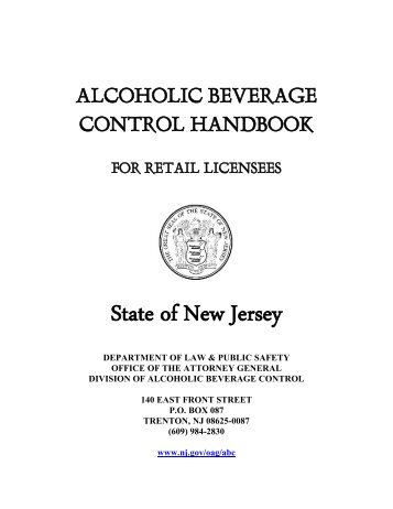 ABC Handbook - State of New Jersey