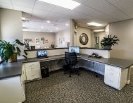 Reception center at Greenville Family Smiles Greenville, SC 29607