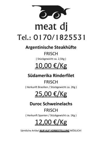 Meat dj
