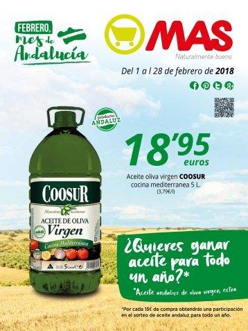 Supermercados MAS folleto ofertas hasta 28 de febrero 2018
