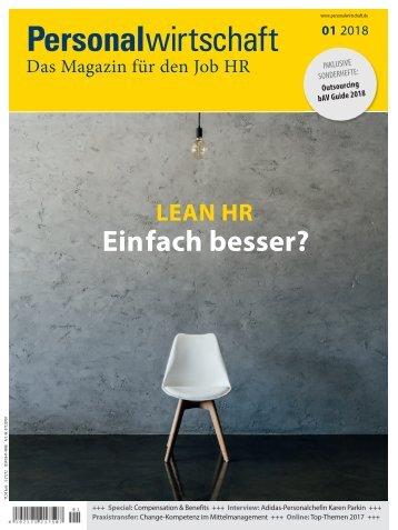 Magazin Personalwirtschaft 01/2018