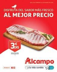 Folleto Alcampo disfruta del sabor más fresco al mejor precio, hasta 8 de marzo 2018