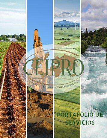 PORTAFOLIO DE SERVICIOS CEIPRO 2018