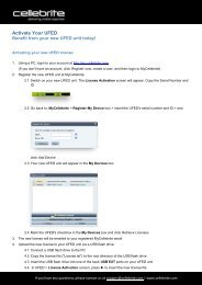UFED License Activation Guide - McSira