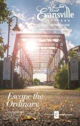 Evansville Convention and Visitors Bureau - 2020 Visitors Guide