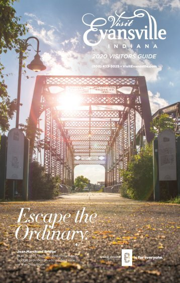 Evansville Convention and Visitors Bureau - 2018 Visitors Guide