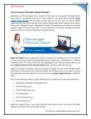 How to get free solution from Apple Tech Support +1-800-501-2708
