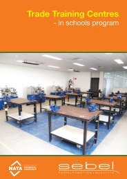 Trade Training Centres - Sebel