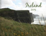 2015 Ireland Vacation Photo Book