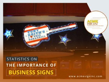 Importance of Business Signs in Kansas City