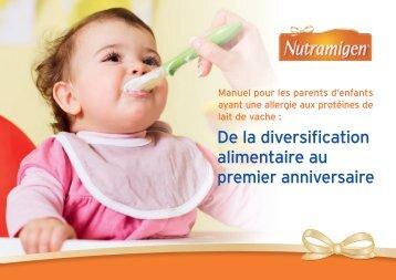 BE-FR_De la diversification alimentaire au premier anniversaire