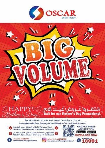 BIG VOLUME