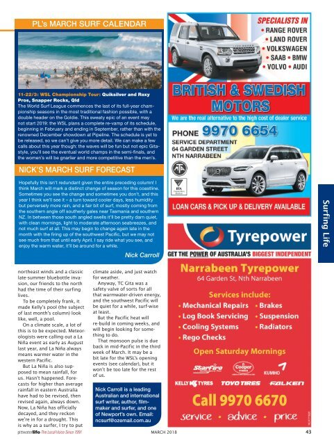 Pittwater Life March 2018 Issue