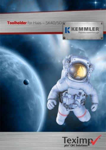 Toolholder for Haas  SK40 50 - Kemmler