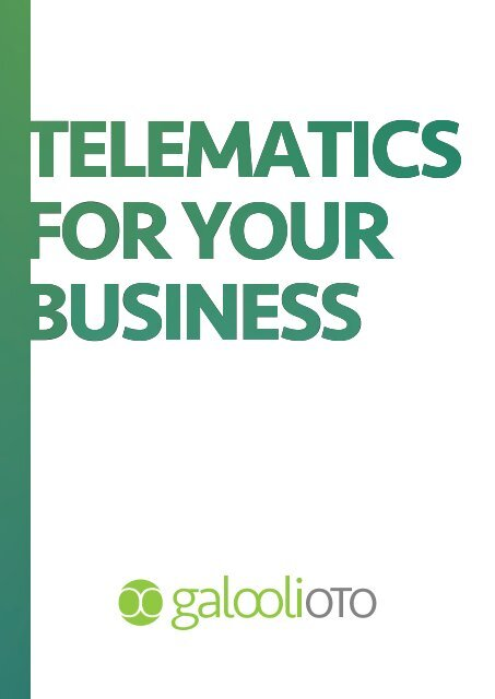 Telematics for Your Business