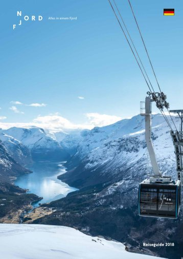 Visit Nordfjord - Reiseguide 2018 DE
