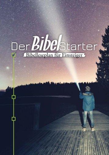 Der BibelStarter - Bibelleseplan für Einsteiger