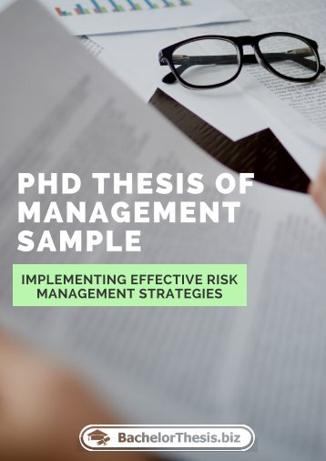 PhD Thesis of Management Sample