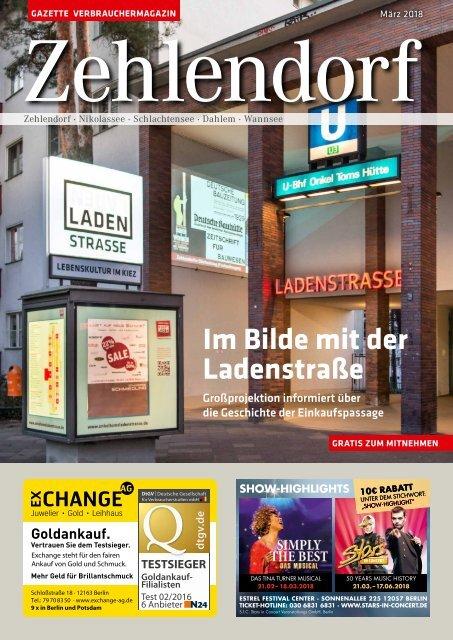 Gazette Zehlendorf Nr. 3/2018