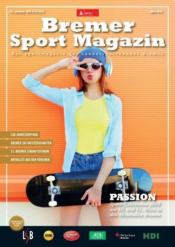 BREMER SPORT Magazin | März 2018