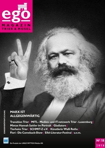 ego Magazin Trier & Mosel - Ausgabe 18