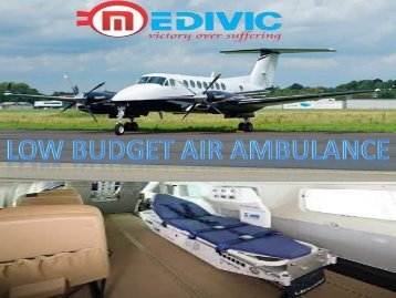 Medivic Aviation Air Ambulance Services in Jabalpur