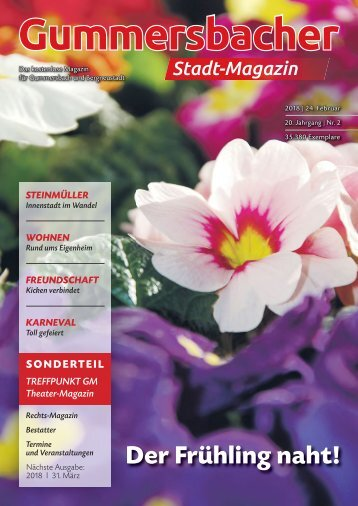 Gummersbacher Stadt-Magazin Februar 2018