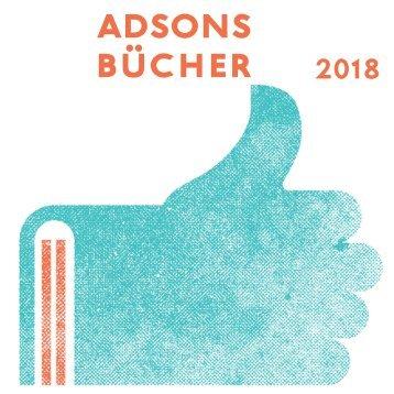 adsons bücher 2018 /Vorschau