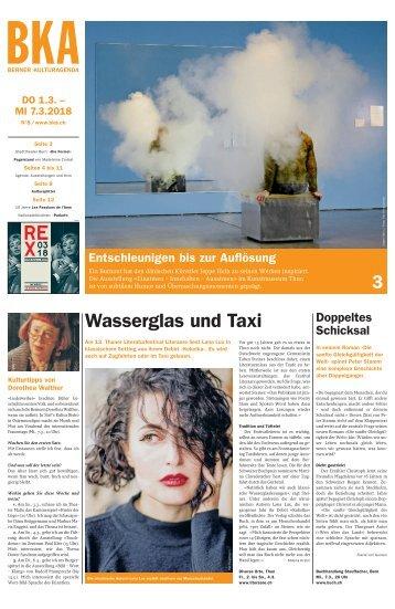 Berner Kulturagenda 2018 N°8