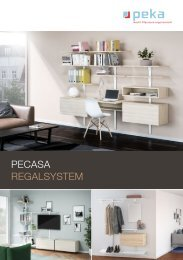 Pecasa Regalsystem
