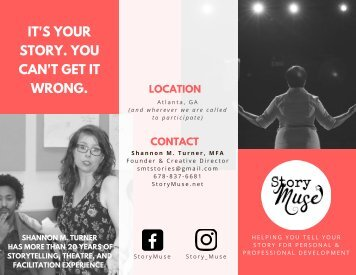 StoryMuse Brochure