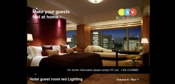 No 6 - Hotel Guest Room Led Light Vol6( Prt1)