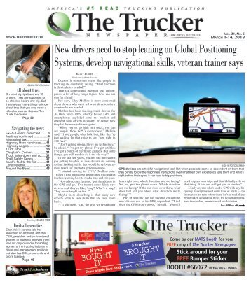 The Trucker Newspaper - March 1, 2018