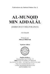 Al-Munqid Min Addalâl