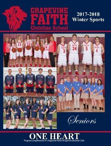 Grapevine Faith Christian 2017-2018 Winter Sports